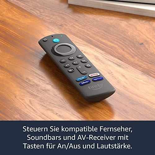 Die neue Fire TV Fernbedienung - 3.Generation mit Tasten für Disney+, Netflix ...