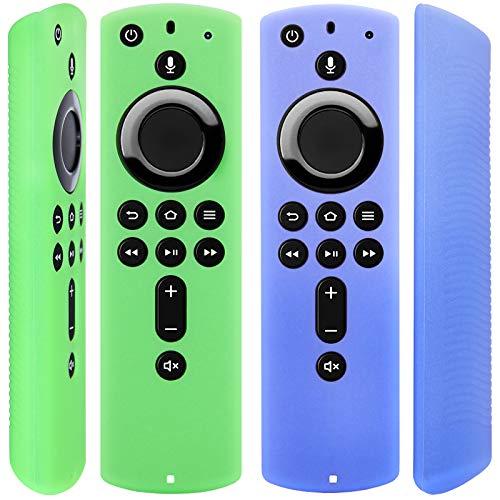 [2 Pack] Halbtransparente Fernbedienung Hülle für Fire TV Stick 4K/Fire TV Cube / Fire TV (3....