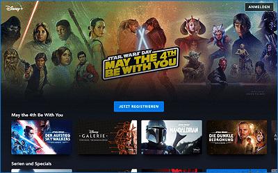 Star Wars auf Disney+ – Diese Serien und Filme kannst du schauen